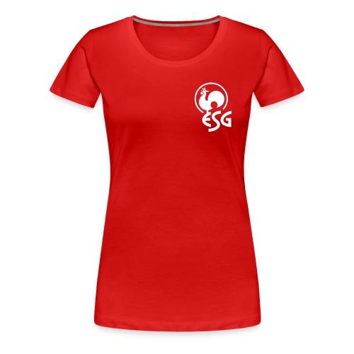 esg bs hahn - Frauen Premium T-Shirt