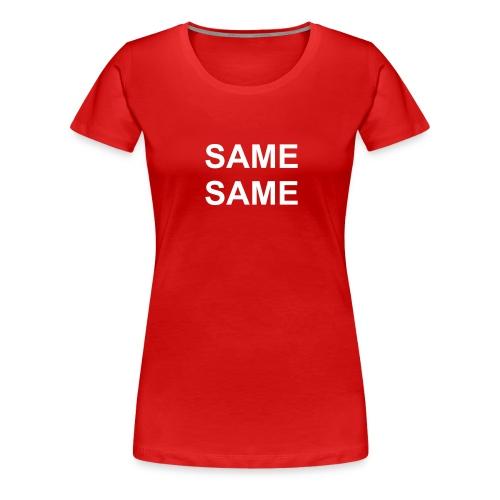 samefront - Frauen Premium T-Shirt
