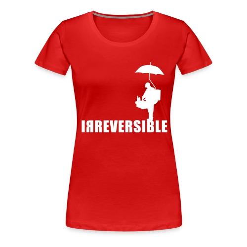 irreversible shirt logo 01 - Women's Premium T-Shirt