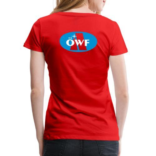 ÖWF Logo groß - Frauen Premium T-Shirt