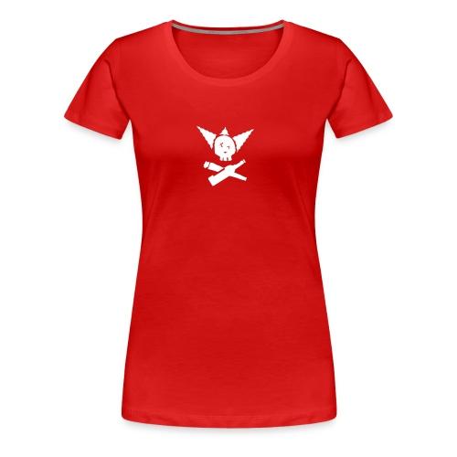 krustyskull2 zw clean - Frauen Premium T-Shirt
