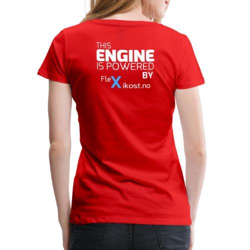 this engine - Premium T-skjorte for kvinner