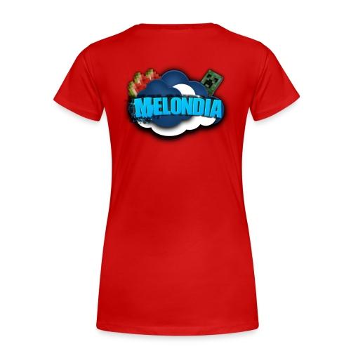 MelondianLogo - Naisten premium t-paita