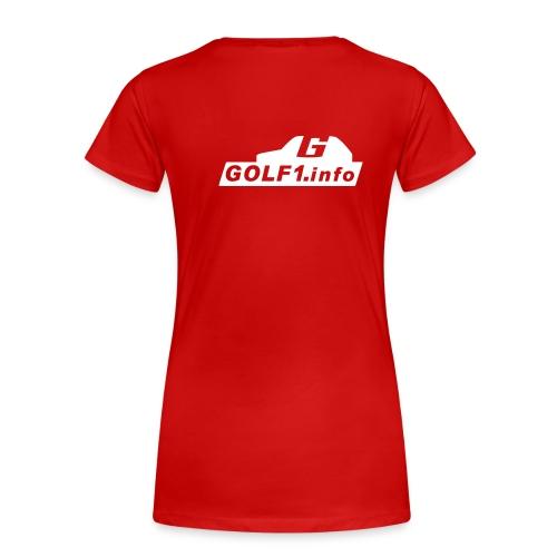 infologofh end - Frauen Premium T-Shirt