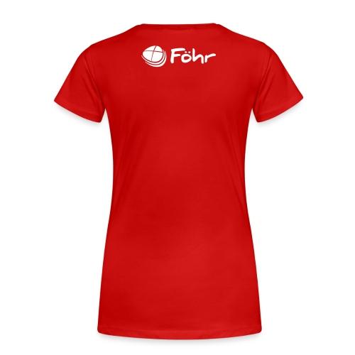 Föhr Logo - Frauen Premium T-Shirt