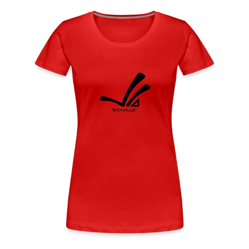 Bemage Logo neu png - Frauen Premium T-Shirt