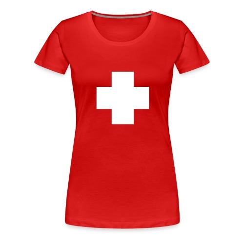 cross - Vrouwen Premium T-shirt