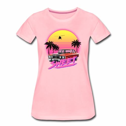 platRETRO // 1 of 4 - Frauen Premium T-Shirt