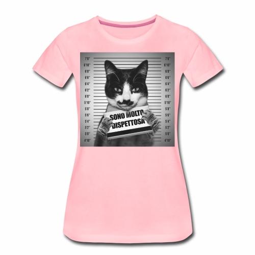 Micia Dispettosa - Maglietta Premium da donna