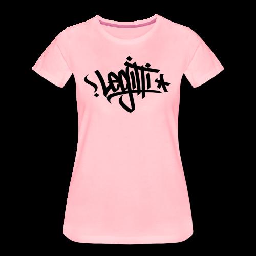 Legitti Urban - Naisten premium t-paita