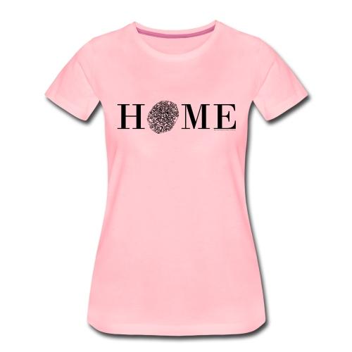 HOME - Nördlingen Altstadt, schwarz - Frauen Premium T-Shirt