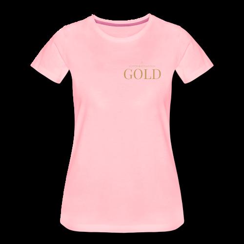Schtephinie Evardson: Ultra Premium Gold Edition - Women's Premium T-Shirt
