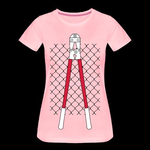 VANDAL'S ZAUN & ZANGE - Frauen Premium T-Shirt
