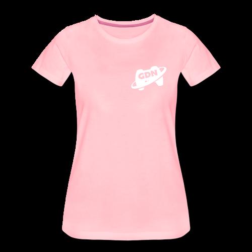 Game Dev Network: White - Women's Premium T-Shirt