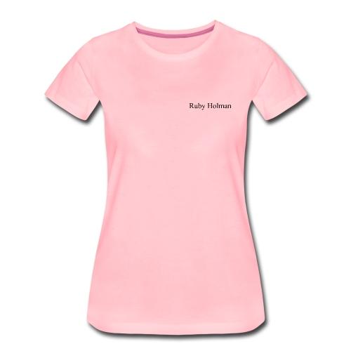 Ruby Holman - T-shirt Premium Femme