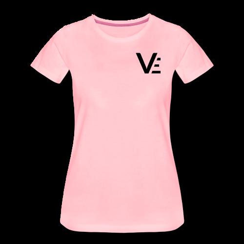 Vekio Réduit Noir - T-shirt Premium Femme