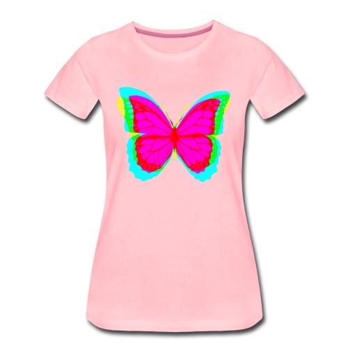 Butterfly - Frauen Premium T-Shirt