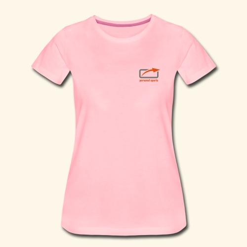 PS Logo Standard - Frauen Premium T-Shirt