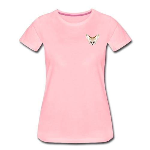 Fennec low poly - T-shirt Premium Femme