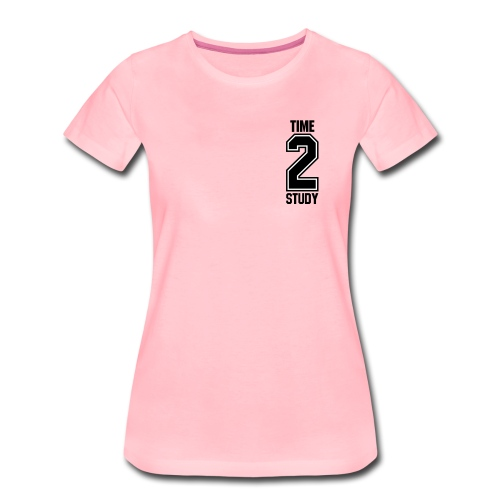 TIME 2 STUDY   College Universität - Frauen Premium T-Shirt