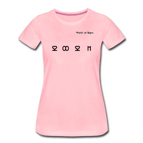 World of Signs 2021 - Women's Premium T-Shirt