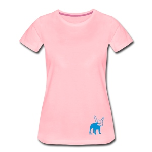 French Bulldogs ROCK! - Women's Premium T-Shirt
