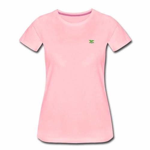 Dezent vegan - Frauen Premium T-Shirt