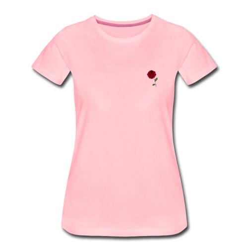 Lit Rose - Frauen Premium T-Shirt