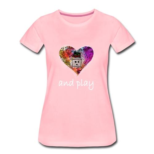 and Play - Partnerlook Shirt 023 - Frauen Premium T-Shirt