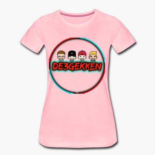 De3gekken - Vrouwen Premium T-shirt