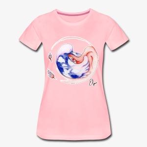 Schlafendes Mädchen - Frauen Premium T-Shirt