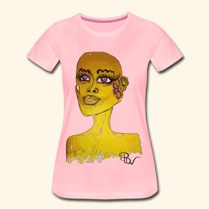 Special design YellowPDw - Vrouwen Premium T-shirt