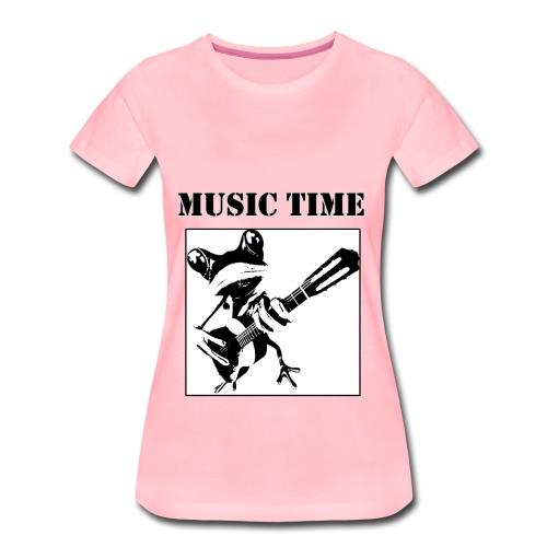 Music time - Frauen Premium T-Shirt