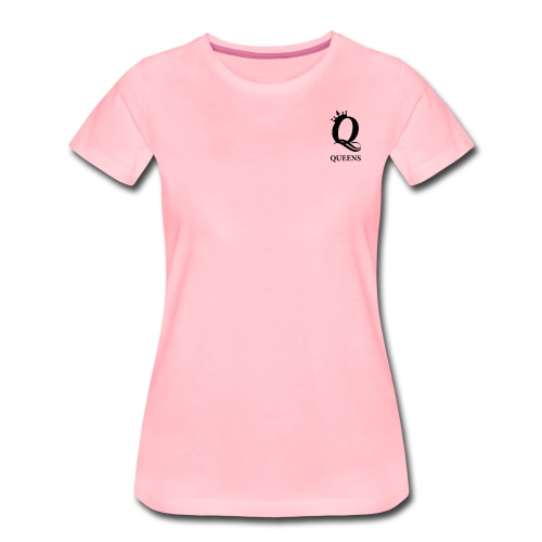 queens logo - Premium T-skjorte for kvinner