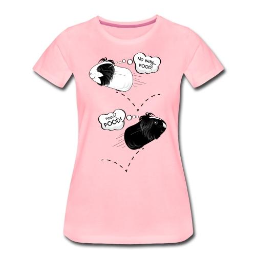 Hungry, happy guinea pigs! - Women's Premium T-Shirt