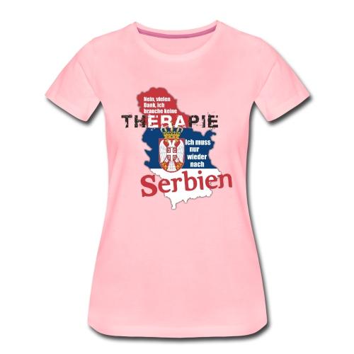 Serbien - Frauen Premium T-Shirt