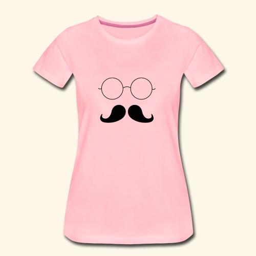 Moustachu - T-shirt Premium Femme