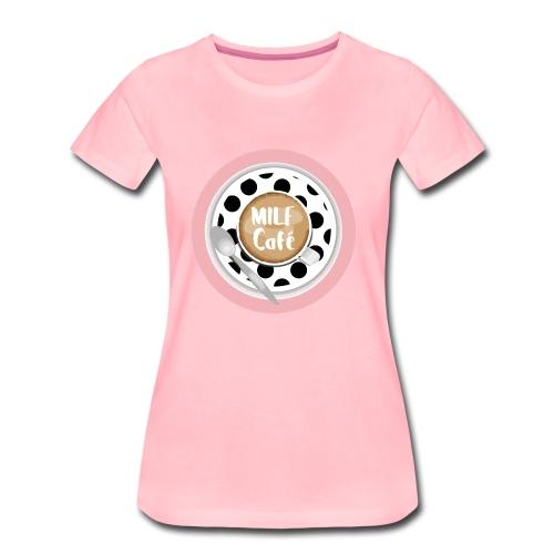 Milfcafé - MILF Logo Instagram Blogger Musthave - Frauen Premium T-Shirt