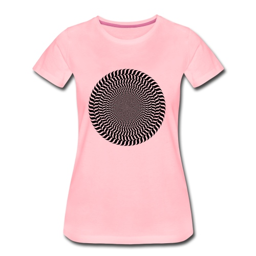 Optische Täuschung - Frauen Premium T-Shirt