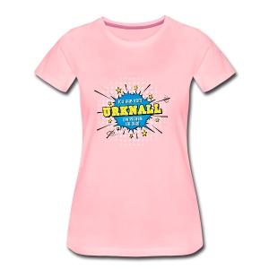 Rüdis Urknall - Frauen Premium T-Shirt