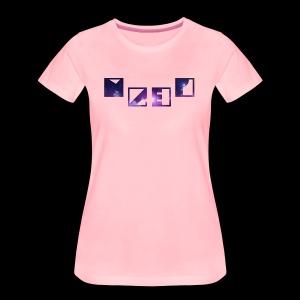 Blue Galaxy - Frauen Premium T-Shirt