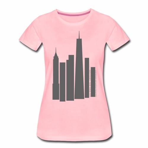 Downtown NYC - T-shirt Premium Femme