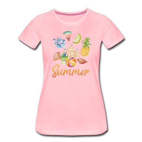 Summer - Frauen Premium T-Shirt
