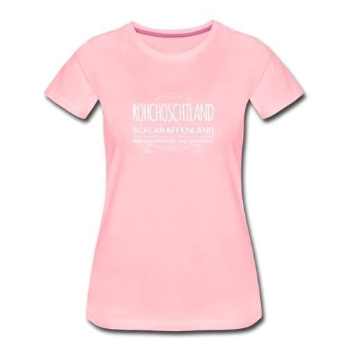 Daniela Elia Design - Rohchoschtland 1 - Frauen Premium T-Shirt