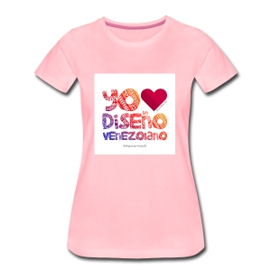 amoeldisenovenezolanoV3 - Camiseta premium mujer