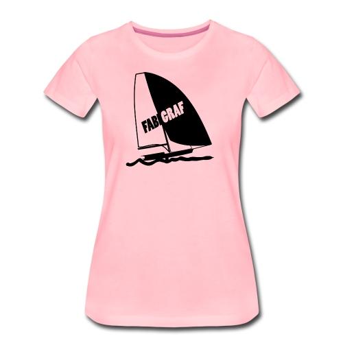 49er Sailing FABIGRAF - Frauen Premium T-Shirt