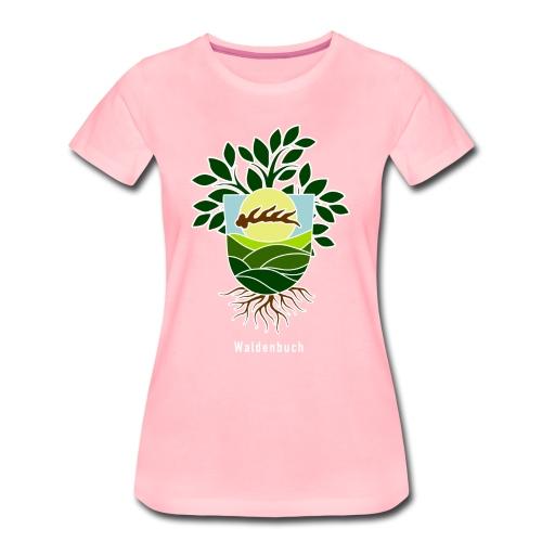 Neuinterpretierter Wabu-Schild - Frauen Premium T-Shirt