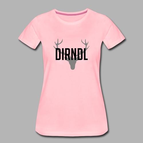 Dirndl Oktoberfest 2018 - Frauen Premium T-Shirt