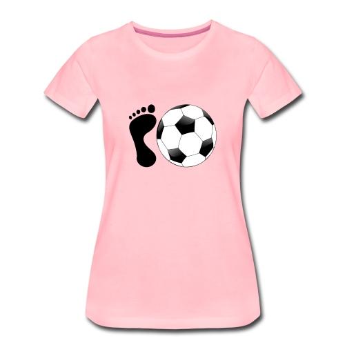 Fußball Bundesliga Sport Ball Spieler Deutschland - Frauen Premium T-Shirt