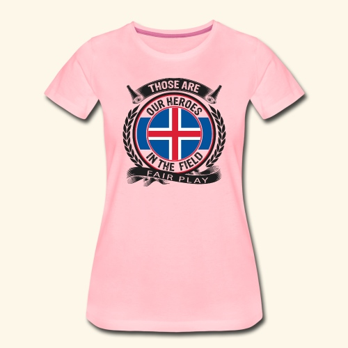 Island 🇮🇸 - Frauen Premium T-Shirt